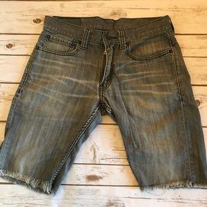 Levi's 511 Cutoff Jean Shorts size 31